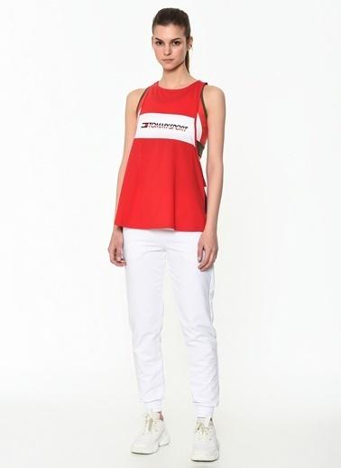 Tommy Hilfiger Kadın Open Back Tank Top Tişört S10S100429 Kırmızı